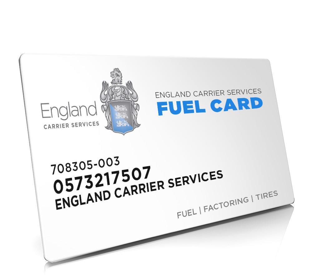 Fuel Card Program - Carrier/Fleet Discounts at Locations Nationwide