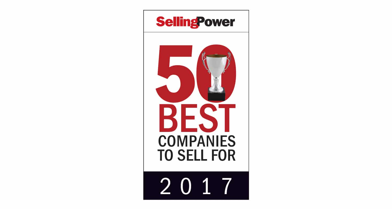 Selling Power Top 50 Best Companies to Sell For