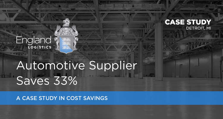 Supply Chain Case Study Automotive Supplier Saves