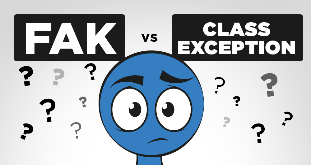 FAK Freight Class vs Class Exception Freight Classes