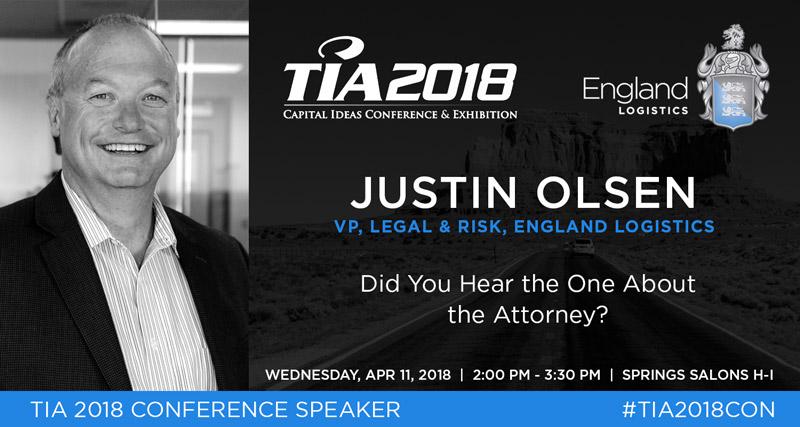 Justin Olsen TIA 2018