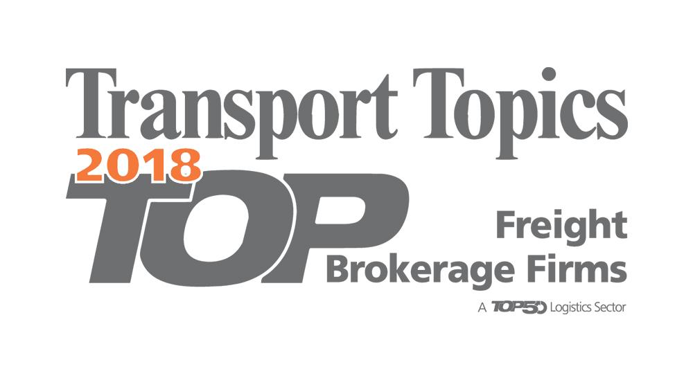 Transport Topics 2018 Top Freight Brokerages