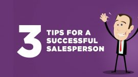 3 Sales Tips Successful Salesperson Sales Teams