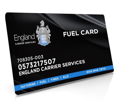 England fuel card program carrierfleet discounts nationwide financial freedom reheart Choice Image