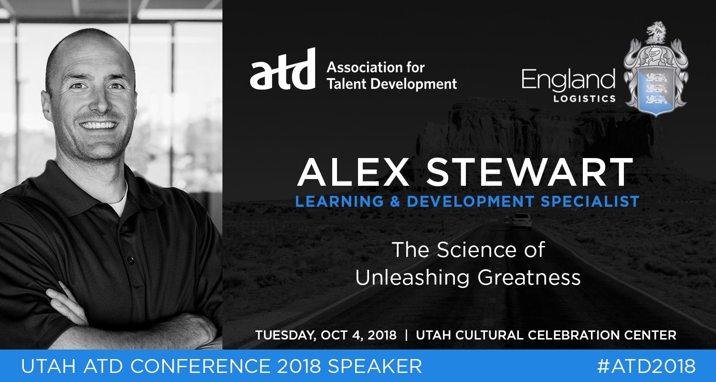 Alex Stewart Utah ATD Conference 2018