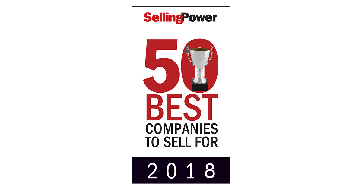 Selling Power 2018 50 Best Companies to Sell For