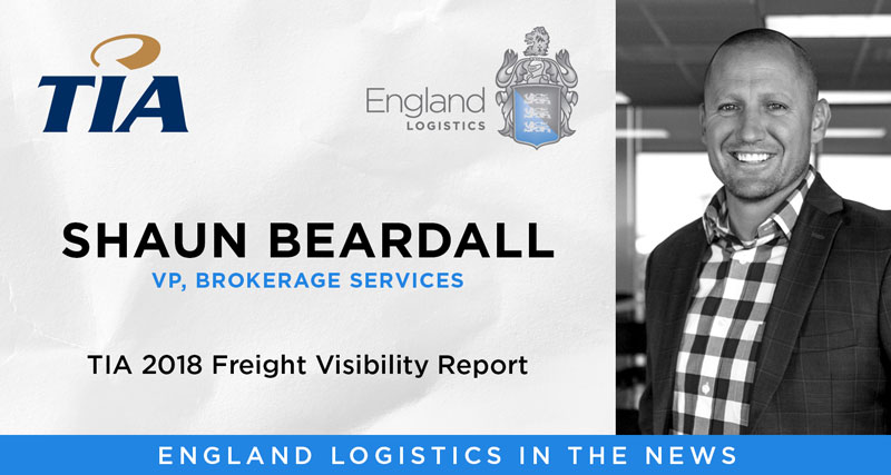 Shaun Beardall TIA Freight Visibility Report