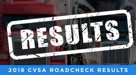 CVSA Roadcheck Results