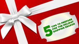 5 Holiday Shipping Tips