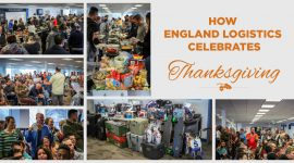 Thanksgiving England Logistics
