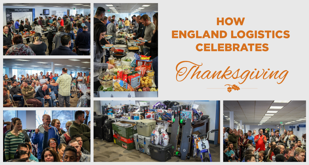Thanksgiving England Logistics