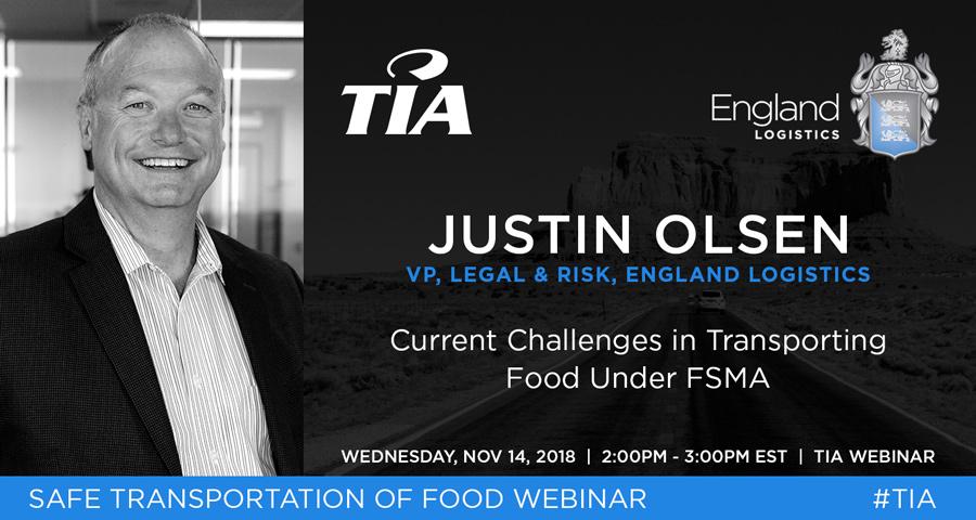 Justin Olsen VP Legal TIA Education Webinar