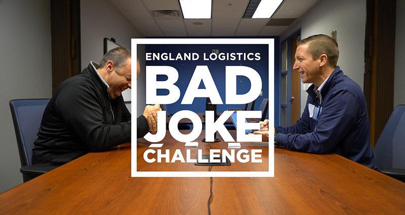 Bad Joke Challenge England Logistics