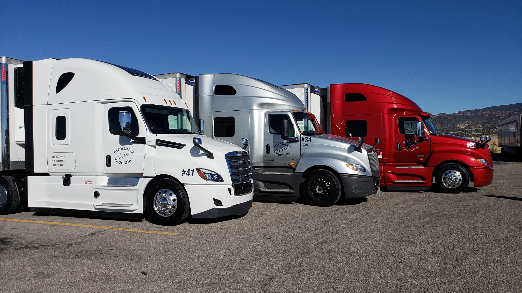 Royalane trucking  |  Competing Against Bigger Fleets