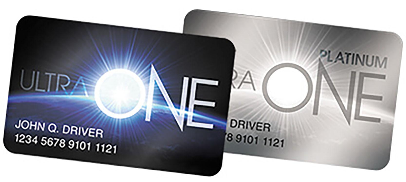 UltraONE Loyalty Card
