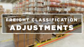 Freight Classification Adjustments | Who is the CCSB | NMFTA | NMFC