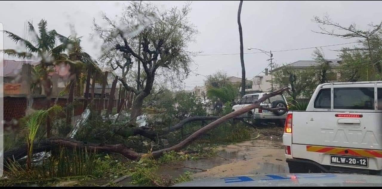 Mozambique cyclone service