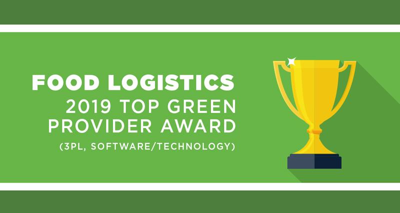 2019 Food Logistics Top Green