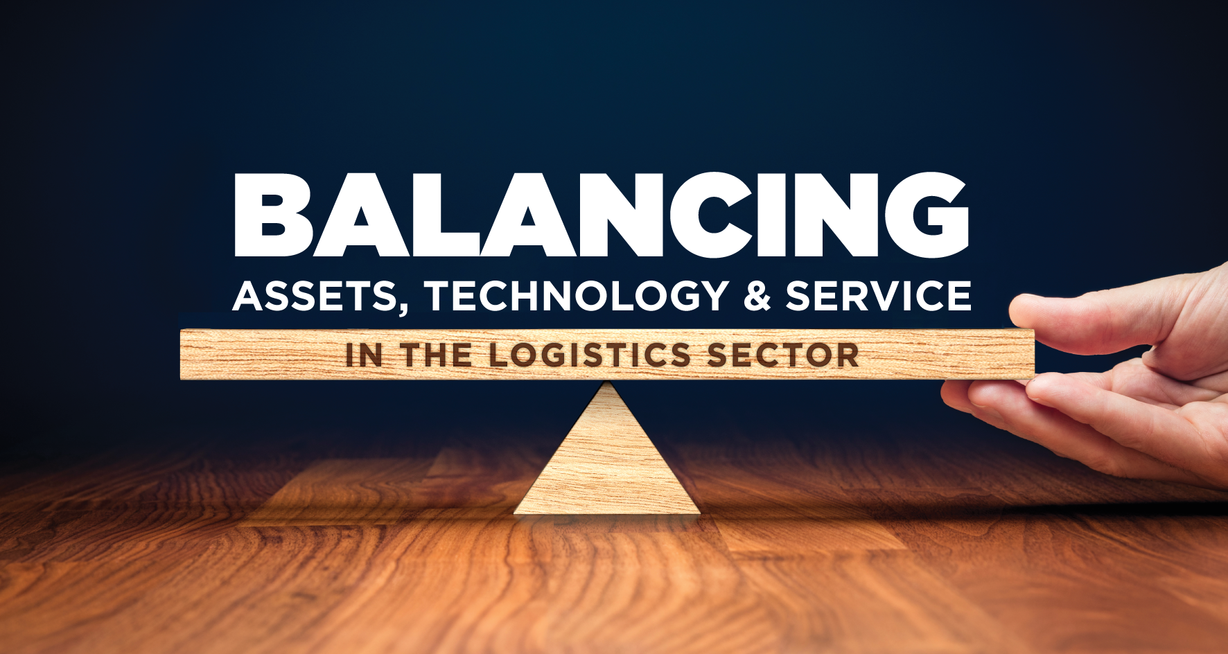 balancing assets technology and service in the logistics sector