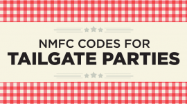 NMFC Codes for Tailgate Parties | Football LTL