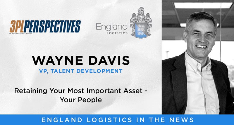 Wayne Davis Featured in 3PL Perspectives Magazine