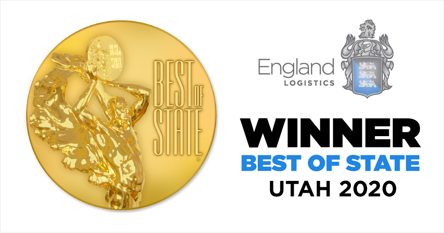 England Logistics Best of State 2020 Utah Logistics