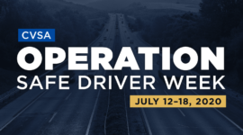 CVSA Operation Safe Driver Week