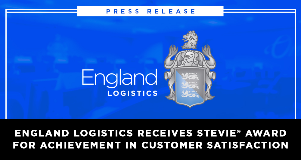England Logistics Receives Stevie Award for Customer Satisfaction | Stevies