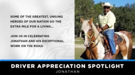 Driver Appreciation Spotlight | Jonathan