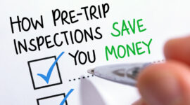 Pre Trip Inspections Save You Money