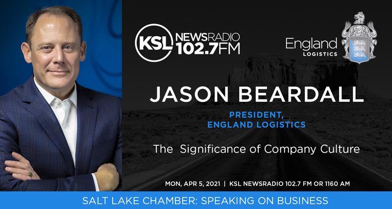 KSL News Radio Jason Beardall Speaking on Business Salt Lake Chamber