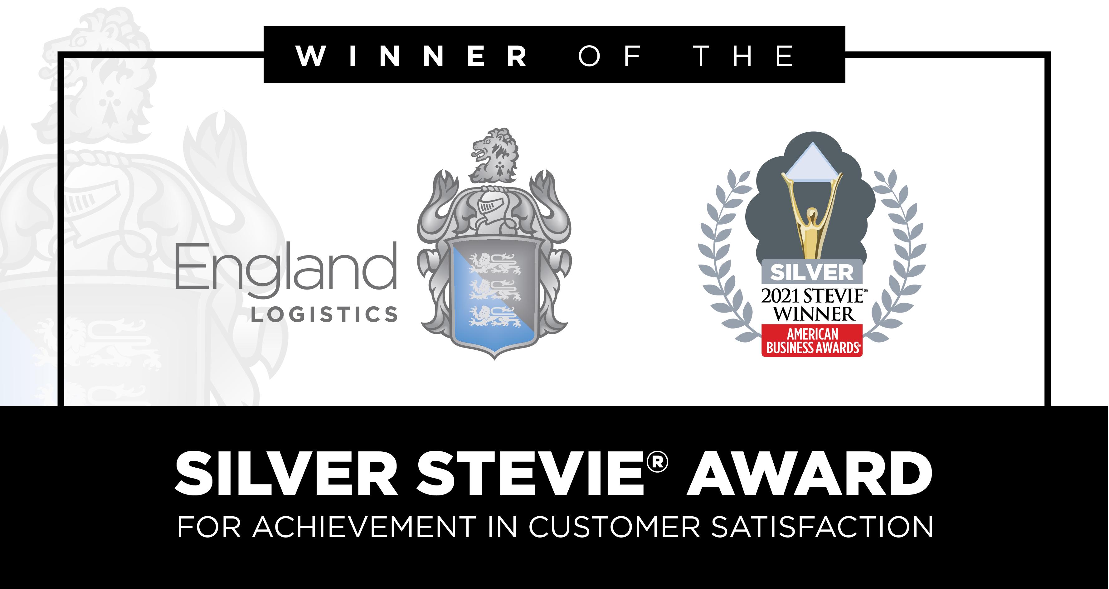 Stevie Award Winner Customer Satisfaction 2021