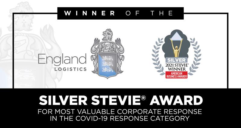 Silver Stevie Award Winner Best Corporate Response COVID American Business Awards