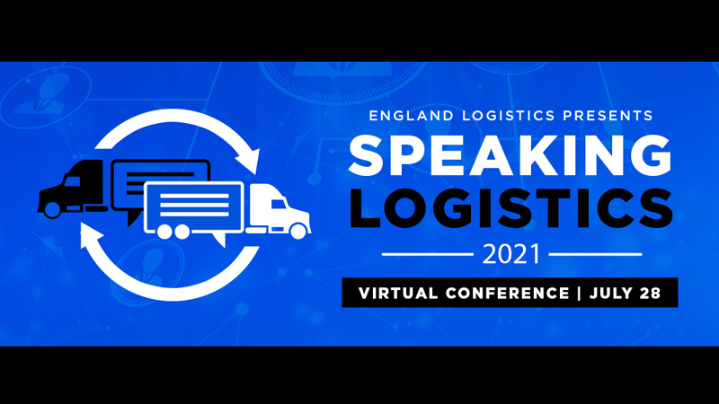 Logo for Speaking Logistics virtual conference 2021